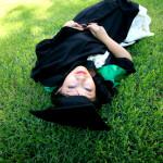 Melbourne University Graduation Photo