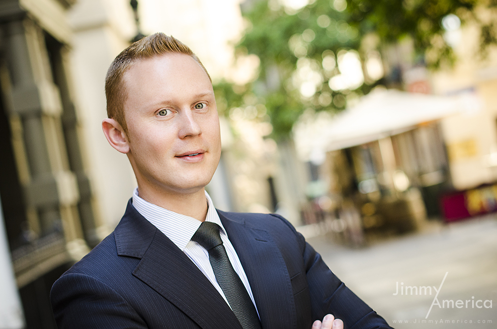 Individual Corporate Headshots | Jimmy America - Melbourne