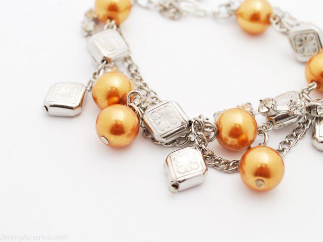 Little Waltz Gold Pearl Bracelet