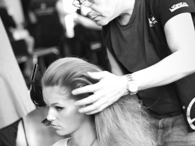 Behind the scenes of the Myers Autumn/Winter 2011 Fashion Show